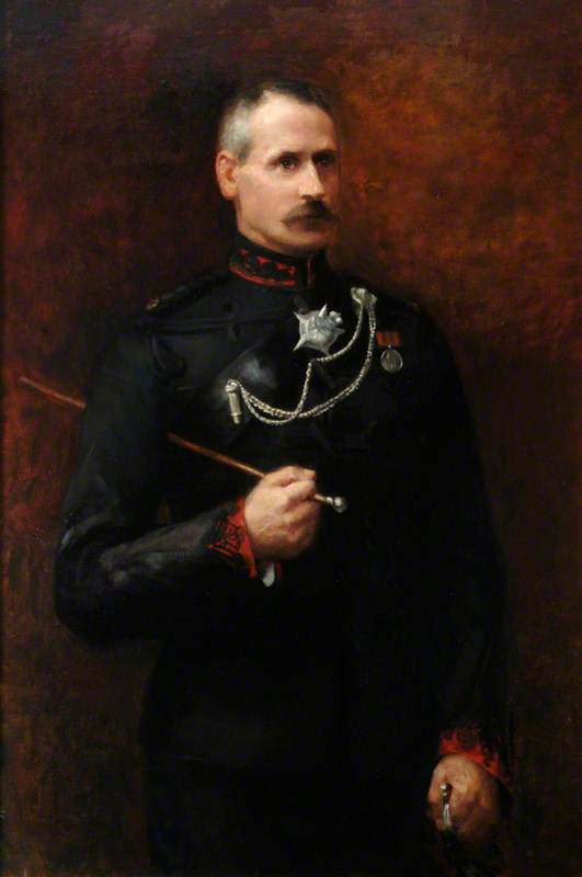 Major General Sir Charles H. Powell, KCB, in the Uniform of 1st King George V's Own Gurkha Rifles, Colonel of Regiment (1916–1943), Three-Quarter Length Portrait, Standing