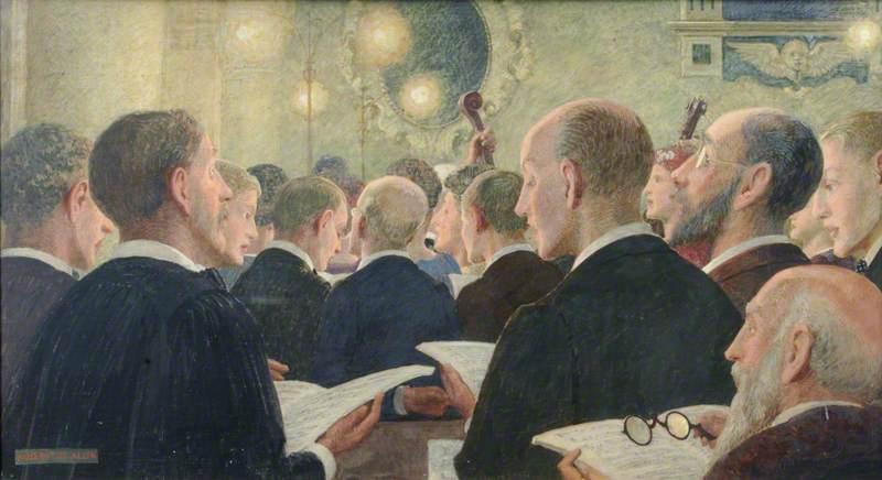 The Oratorio, Sacred Cantata Performed in Farnham Parish Church