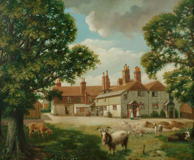 View of Cottages in Alton
