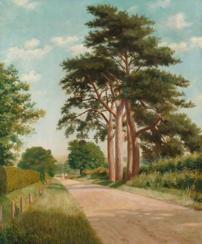 View of Anstey Lane, Alton