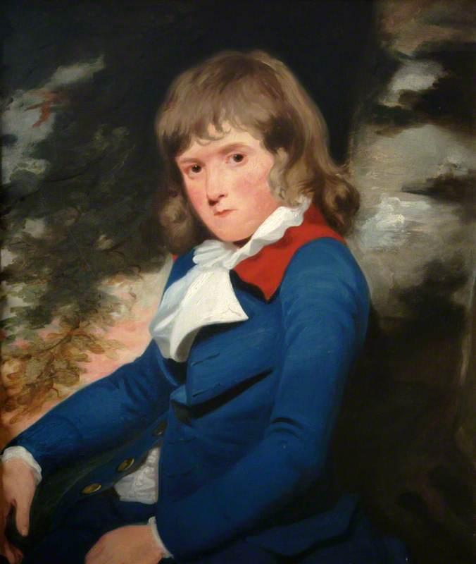 Portrait of a Boy in a Blue Coat