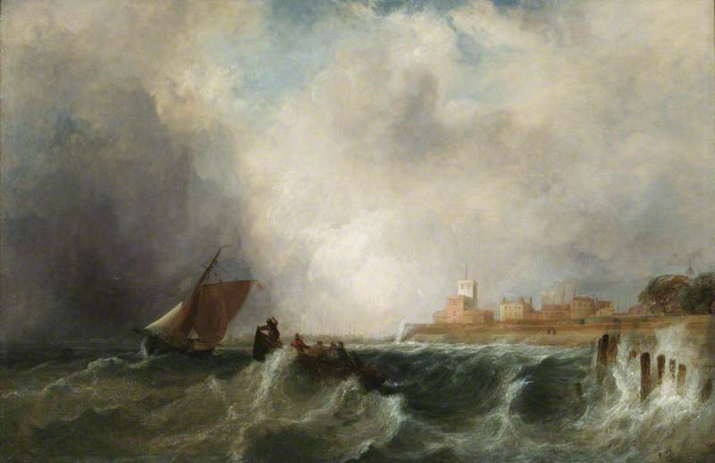 Entrance to Portsmouth Harbour