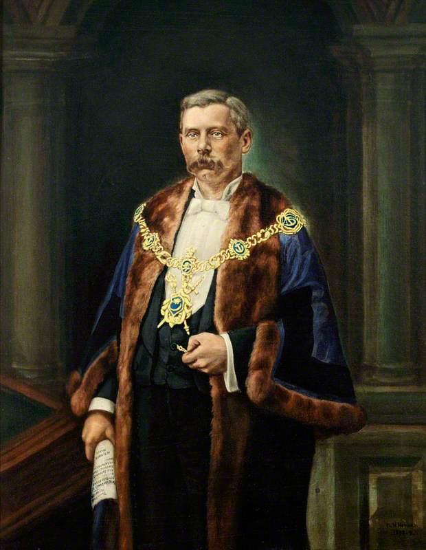 Harry Kimber (1847–1922), JP, Mayor of Portsmouth