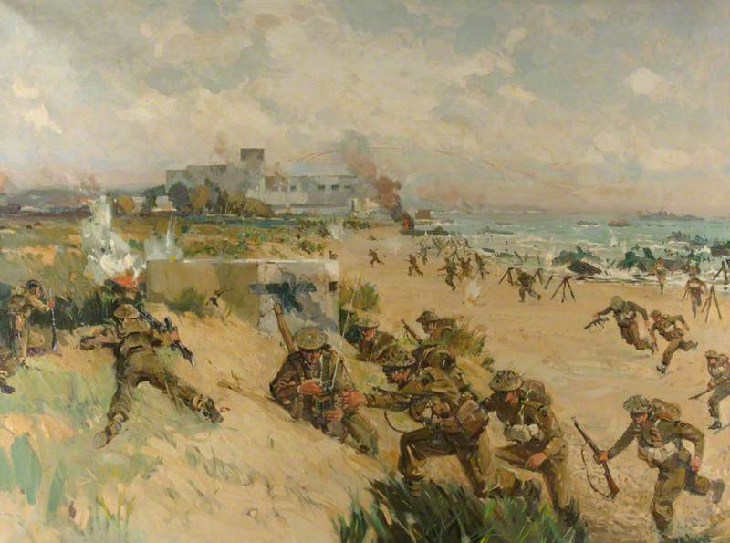 D-Day, 6 June 1944