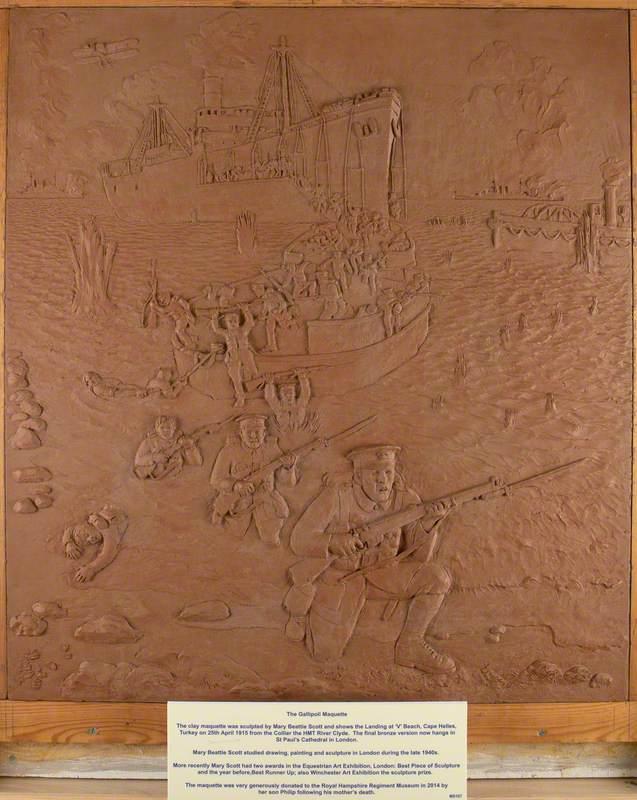 Gallipoli Maquette