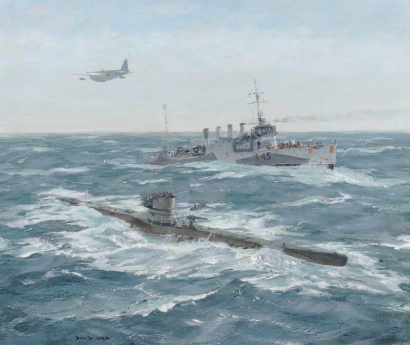 Capture Intact of U-Boat '570'