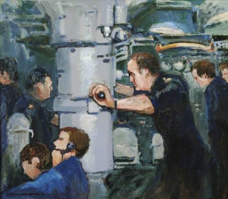 Control Room of HMS 'Renown'