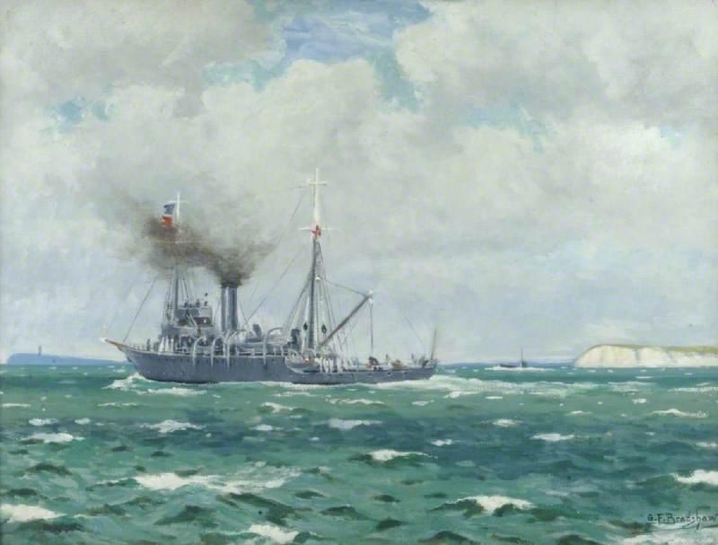HMS 'Alecto'