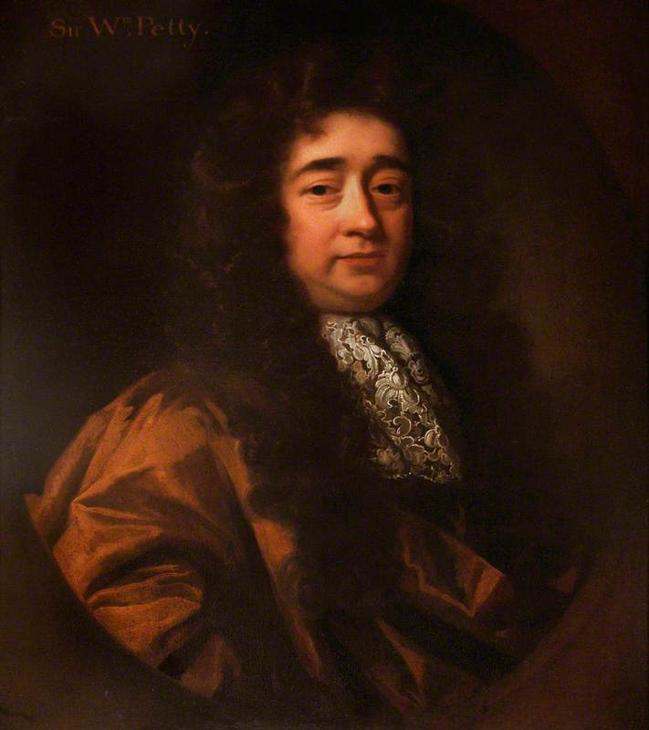 Sir William Petty (1623–1687), Political Economist, Inventor, Scientist and Founder Member of the Royal Society