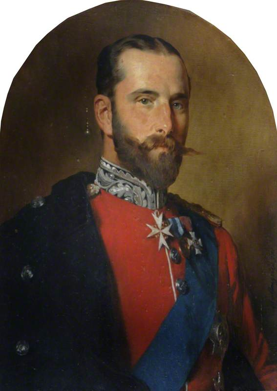 Prince Henry (1858–1896) in Military Uniform