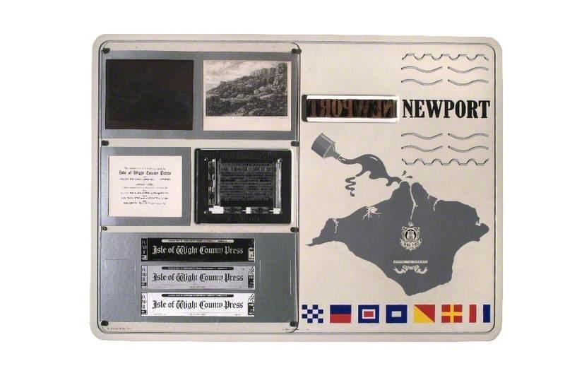 Holiday Postcard Series 1: Newport