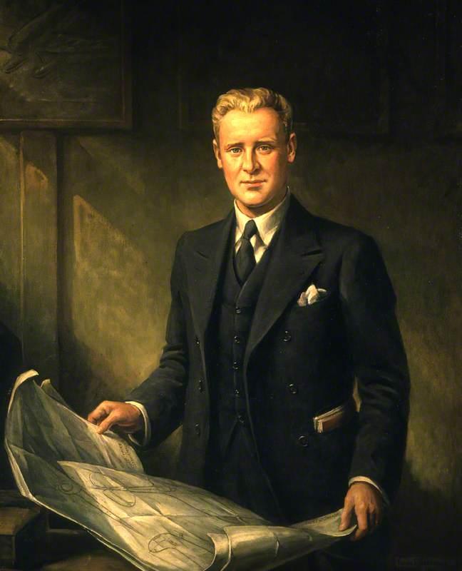 Reginald Joseph Mitchell (1895–1937), CBE, Aeronautical Engineer