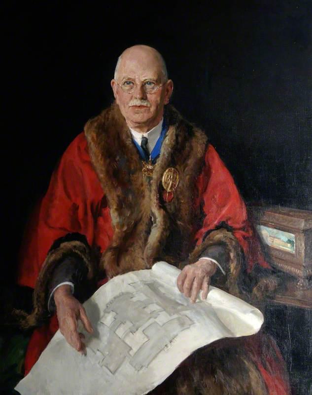 Alderman Sir Sidney Kimber, JP