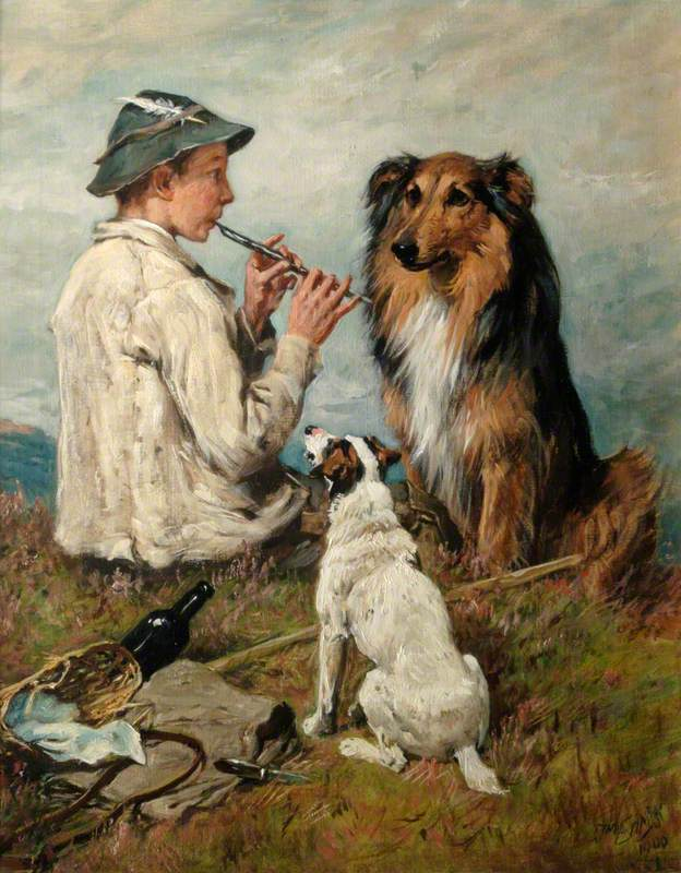 Shepherd and Dogs
