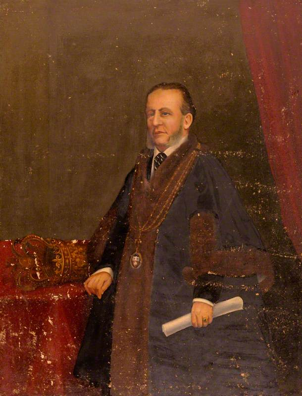 H. J. Buchan, Mayor of Southampton (1871)