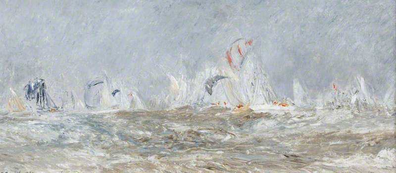Yachts in a Squall