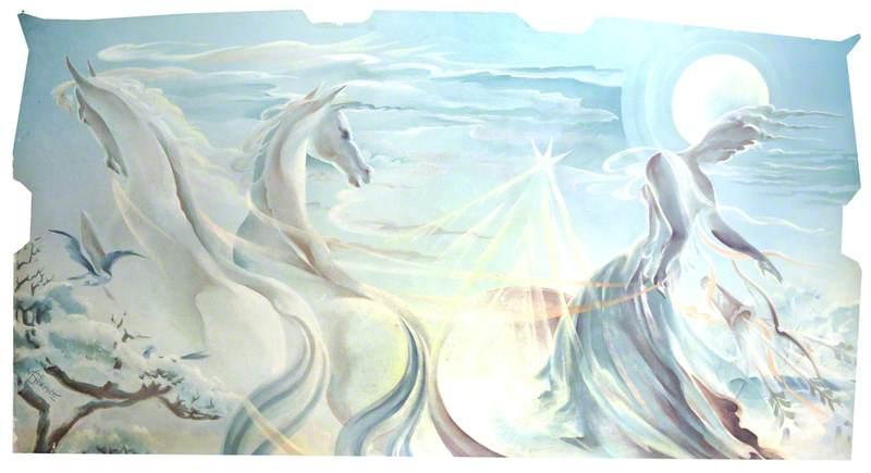 The Goddess Diana and Horses