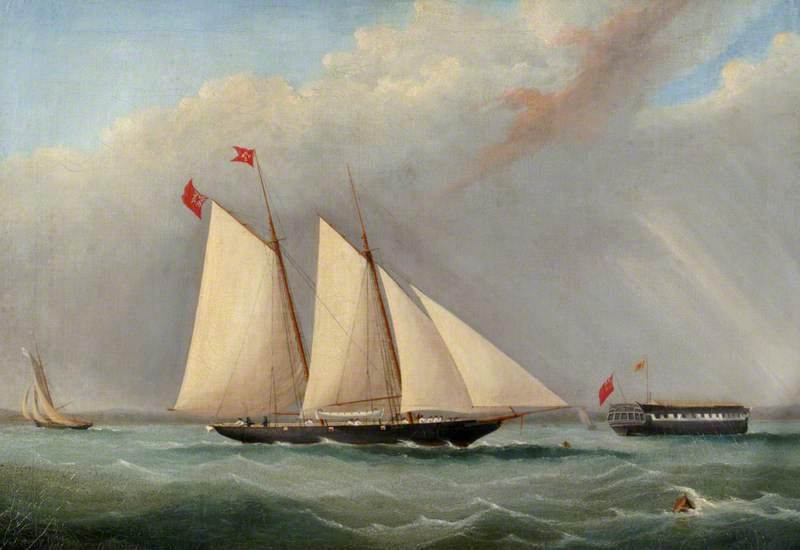 Eighteenth-Century Schooner