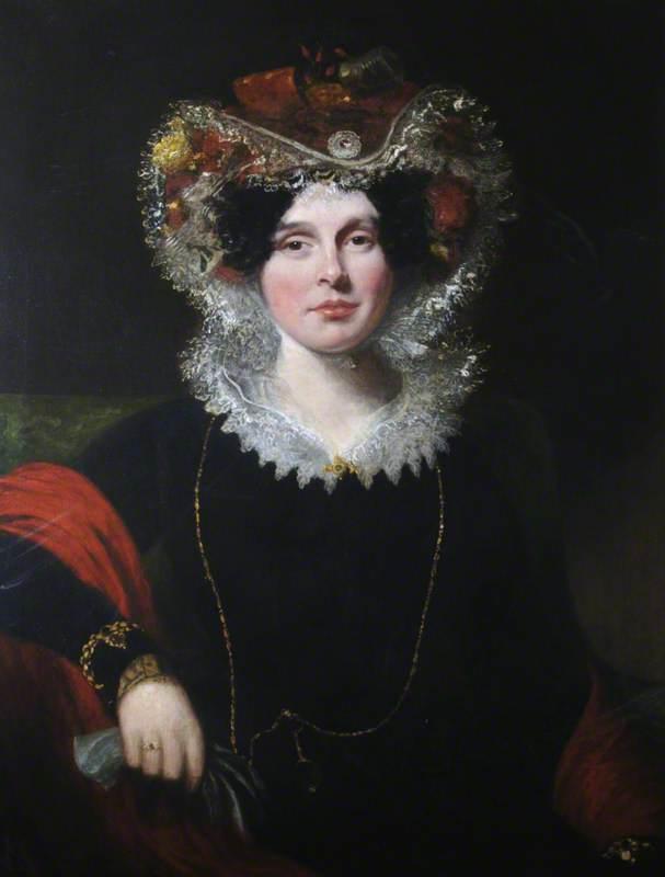 Elizabeth Hobbes, Wife of Luke Groves Hansard