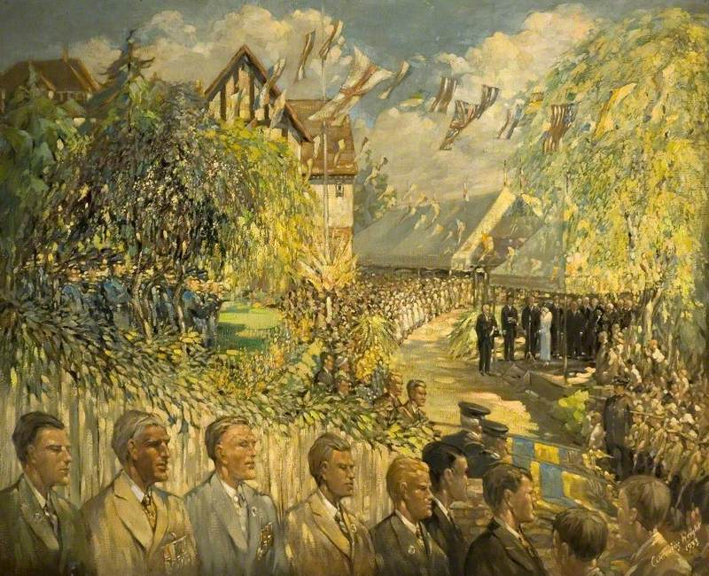 The Opening of Rye Street Hospital, Bishop's Stortford