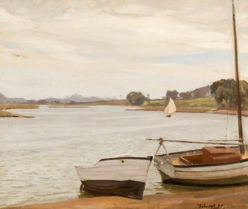 Christchurch Estuary Scene
