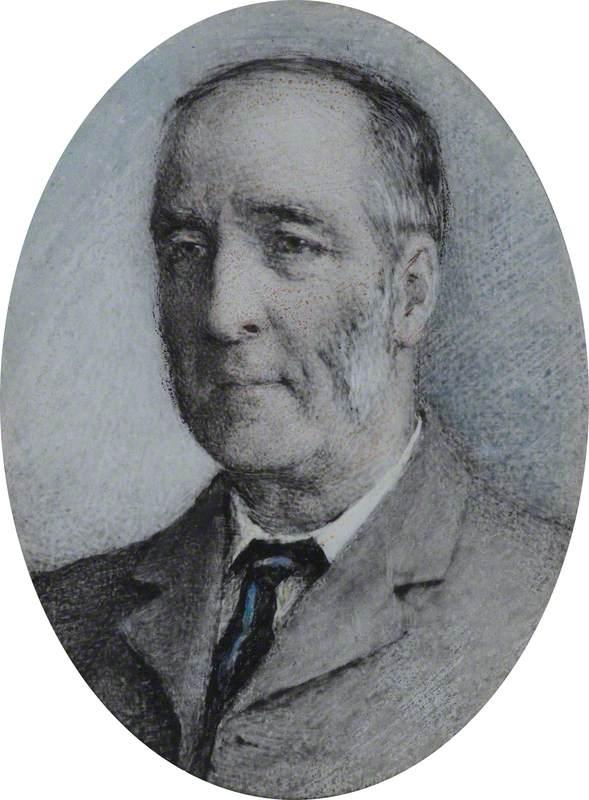 Dr John Cole Painted at Trewingan