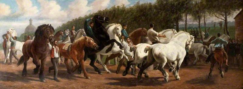 The Paris Horse Fair