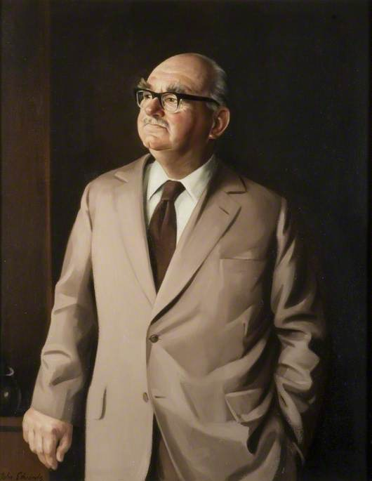 Mayor A. J. Hughes, MC, TD, DL, Chairman of the County Council (1973–1974 & 1977–1980)