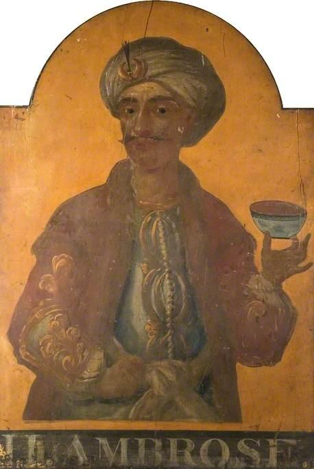 'Turk's Head' Pub Sign