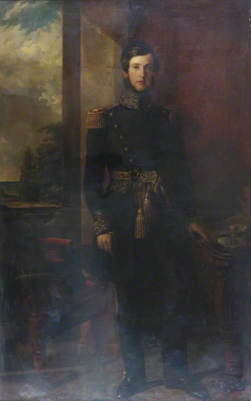 George Richmond Collis (1816–1872), Father-in-Law of Brooke Robinson