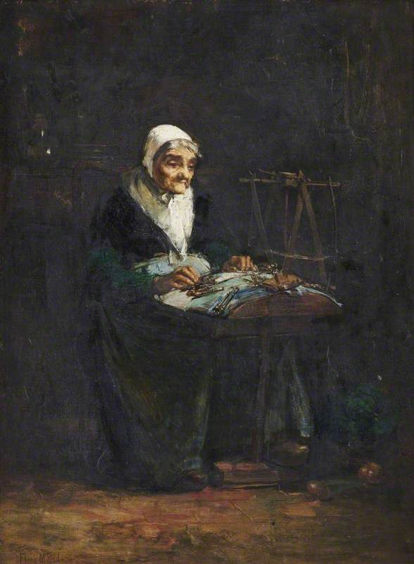 The Flemish Lacemaker