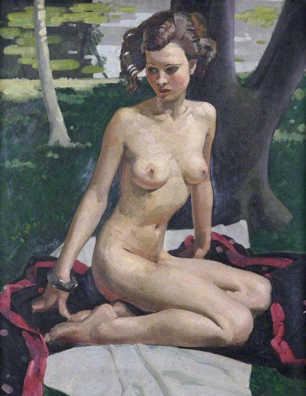 Seated Nude (Summer)