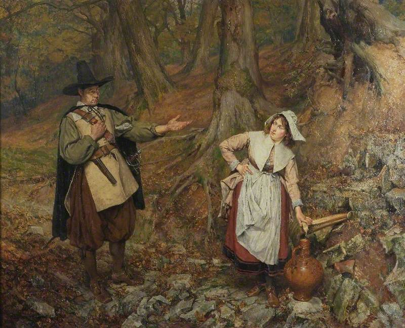 The Puritan and the Maid