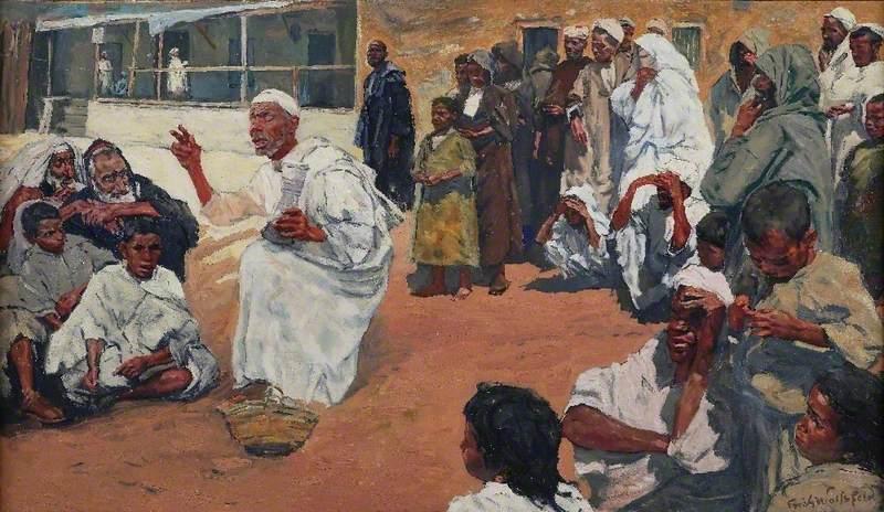 The Blind Preacher