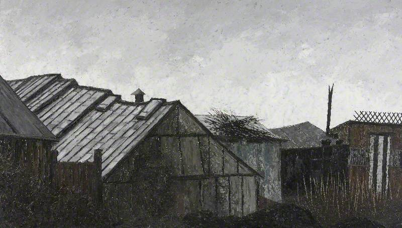 Greenhouse and Sheds, Mow Cop, Staffordshire