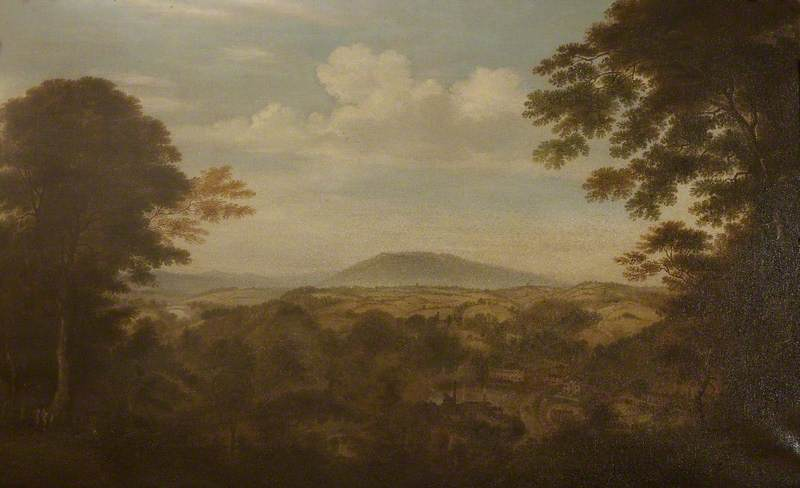 Coalbrookdale, Shropshire, Looking North West towards the Wrekin