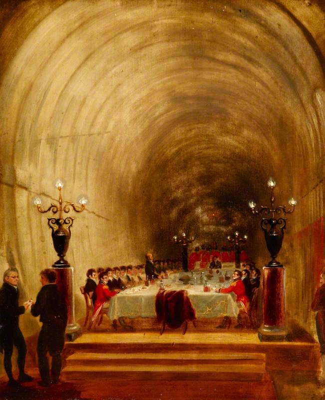 Banquet in the Thames Tunnel