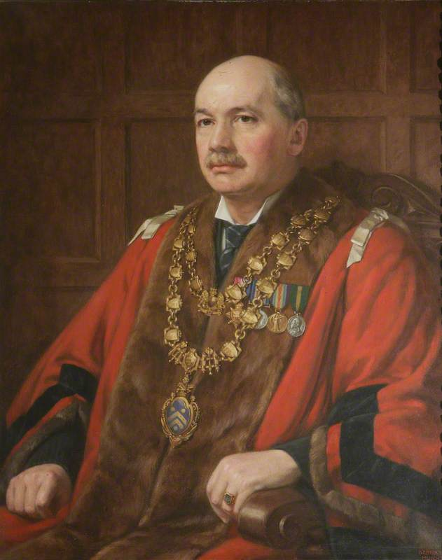 George Richard Woodward, JP, Mayor
