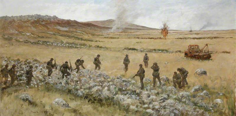 Advance to Stanley, 1st Battalion Welsh Guards