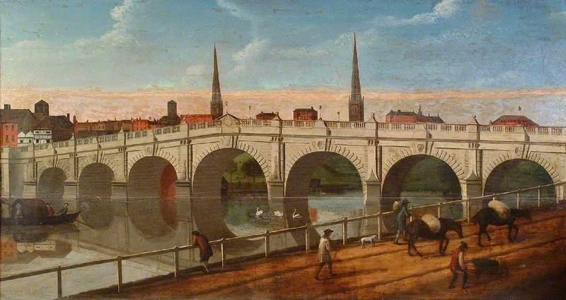 English Bridge, Shrewsbury, Shropshire