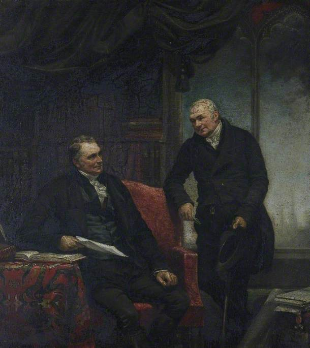 Reverend Archdeacon Owen and Reverend B. Blakeway (d.1826), Co-authors of 'The History of Shrewsbury'