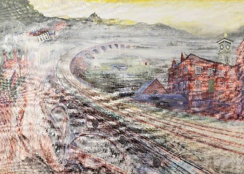 Viaduct, Coalbrookdale, Shropshire, Early Morning