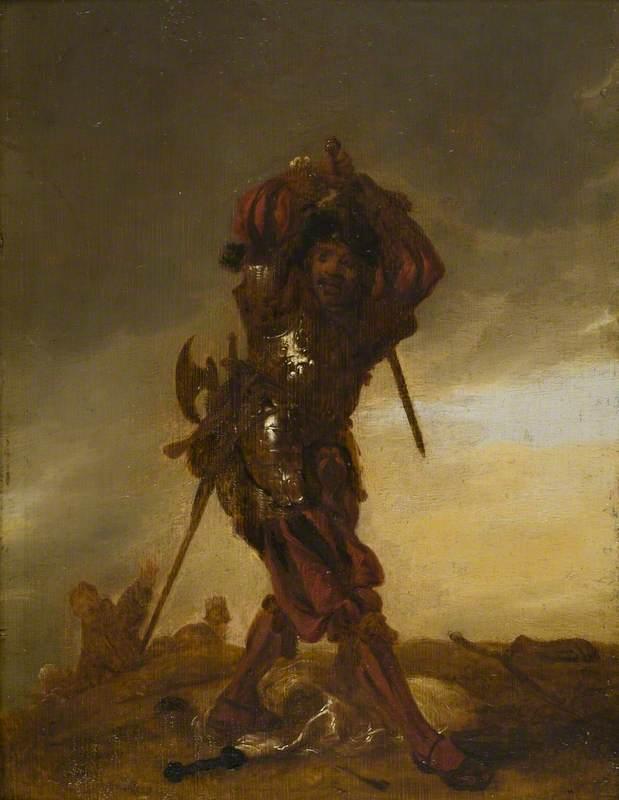 Portrait of a Swiss Soldier: A Mercenary