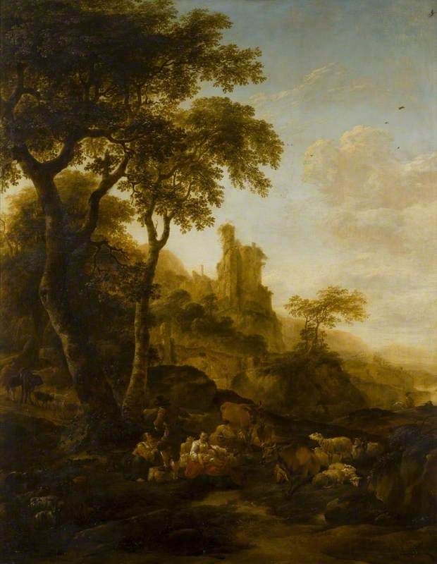Rural Landscape with a Horse and Cart