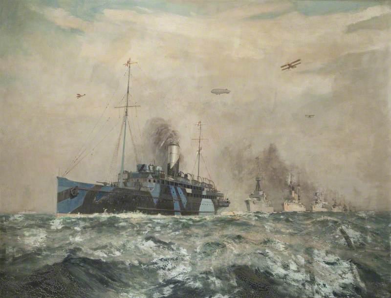 Surrender of the German Fleet, 1918