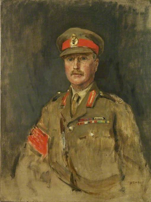 Major General C. E. Lawrie, CB, CMG, DSO