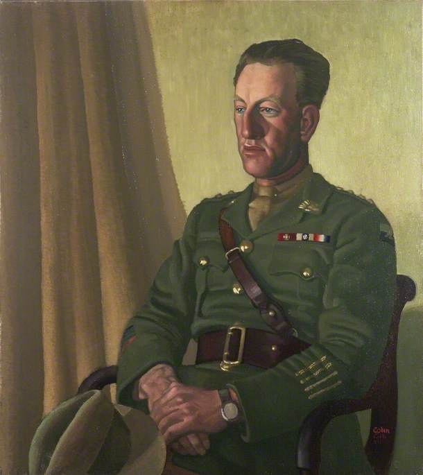 Captain Albert Jacka (1893–1932), VC, MC and Bar