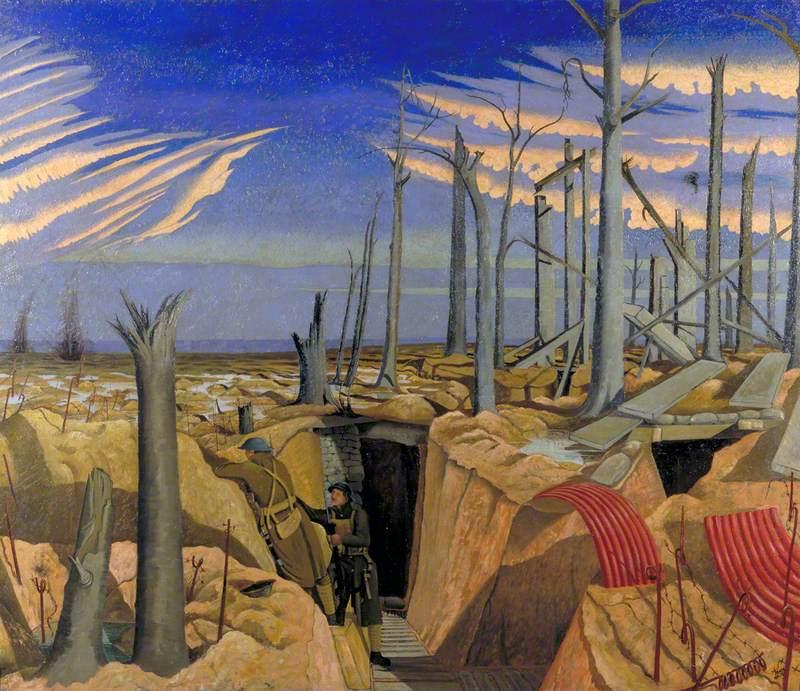 Oppy Wood, 1917: Evening