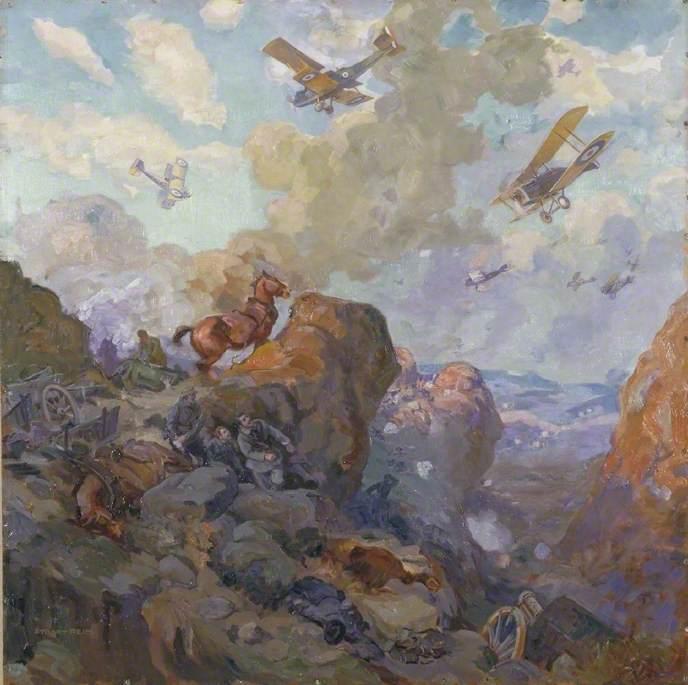Bombing of the Wadi Fara, 20 September 1918