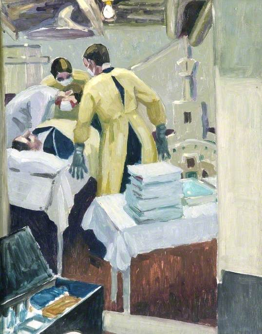 The Dressing Station in a Man-of-War